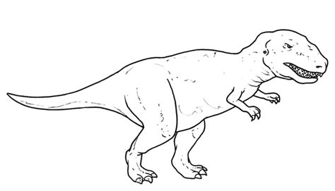 immagini di dinosauri da colorare per bambini disegni da colorare per bambini tyrannosaurus disegni da