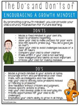 growth mindset activities   schoolhouse diva