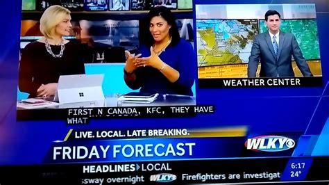 Wlky News Anchor Monica Hardin Says A Dirty Word Live On