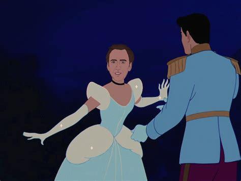 Nicolas Cage As Your Favorite Disney Princesses
