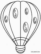 Balloon Coloring Air Pages Printable Colouring Basket Template Cool2bkids Drawing Sheets Getdrawings sketch template