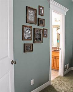 Paint color valspar blue arrow dark rustic frames hobby for Kitchen colors with white cabinets with childrens bedroom wall art