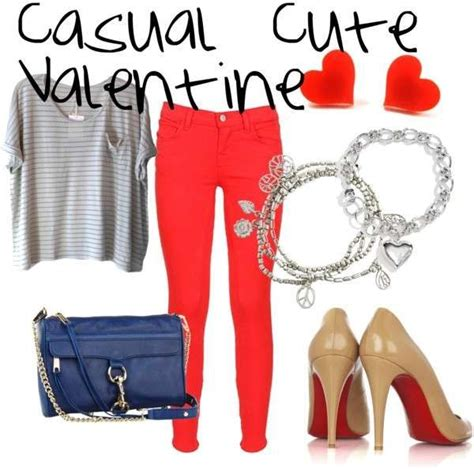 21 Valentineu0026#39;s Day Outfit Ideas - Fashion Diva Design this one would be an easy work day one ...
