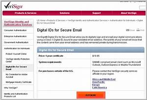 pdf it faq digital signature purchase internet explorer With verisign document signing
