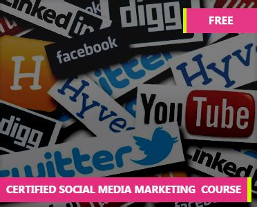 social media marketing certification free social media marketing certification how to learn
