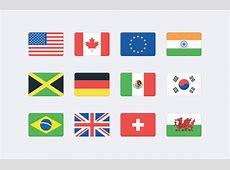 Vector World Flag Icons SVG — Medialoot