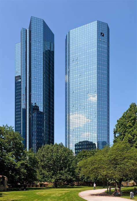 Deutsche Bank Sede Deutsche Bank Hochhaus