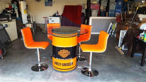 harley davidson pub table and chairs harley davidson table and bar stools harley davidson bar