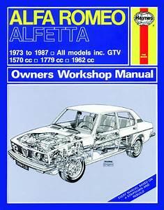 Haynes Manual Alfa Romeo Alfetta  1973