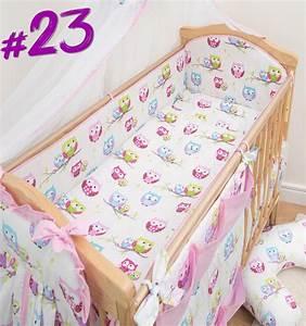 Kinderzimmer Set Baby : 5 st ck baby bettw sche set kinderzimmer gitterbett kinderbett lang rundum ebay ~ Indierocktalk.com Haus und Dekorationen
