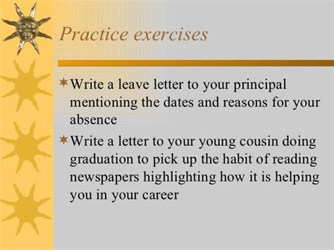 informal letter writing worksheets  grade  virtual gwas