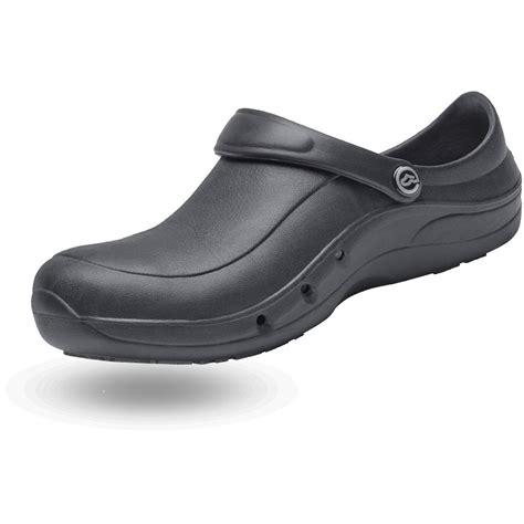 chaussure de cuisine noir sabot de cuisine avec sécurité ultra léger en noir