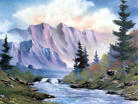 17 Best Images About Bob Ross Paintings On Pinterest