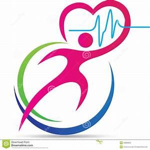 Healthy Heart Logo Stock Vector - Image: 53800846