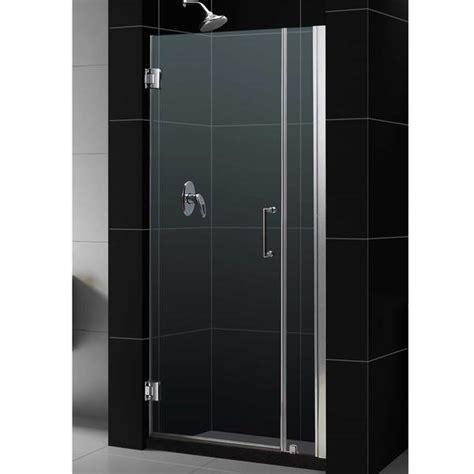 32 Inch Shower Door - shop dreamline unidoor 31 32 inch adjustable frameless