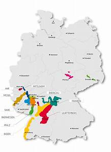 German Wine Regions Map