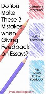 Do You Make These 3 Mistakes when Giving Feedback on Essays?