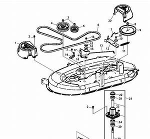 32 John Deere D105 Drive Belt Diagram