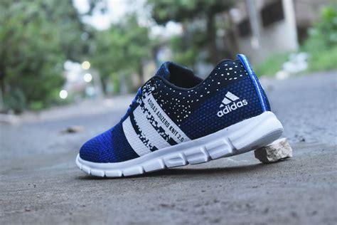 Sepatu Adidas Adizero 2 0 2 jual sepatu adidas adizero knit 2 0 biru hitam adidas