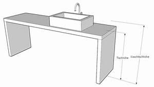 Waschbecken Auf Tisch : waschtischplatte auf mas altes holz ~ Sanjose-hotels-ca.com Haus und Dekorationen