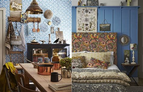 home decor designs interior blue bohemian interior design with vintage style