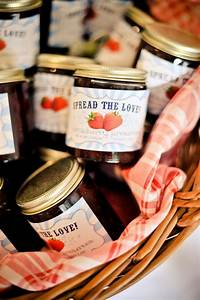 wedding favors your guests will love preowned wedding With jelly jar labels for wedding favors
