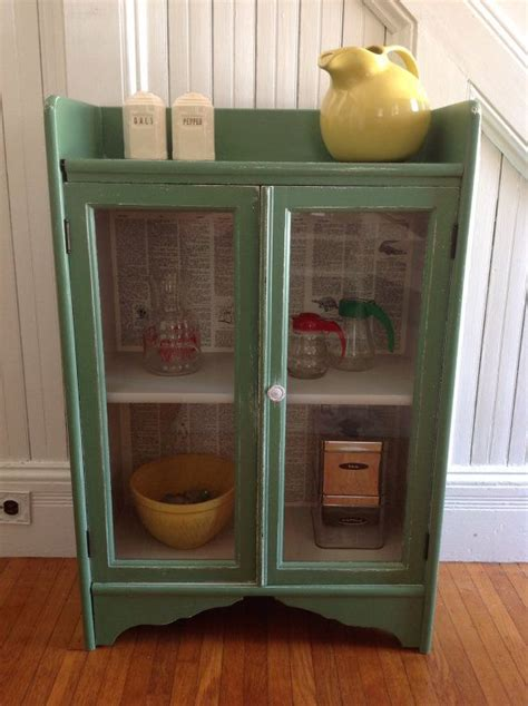 how to distress kitchen cabinets vintage green cabinet american farmhouse wood glass doors 7243