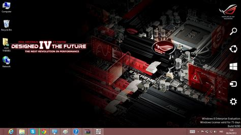 theme bureau windows 7 asus theme for windows 7 and 8 ouo themes