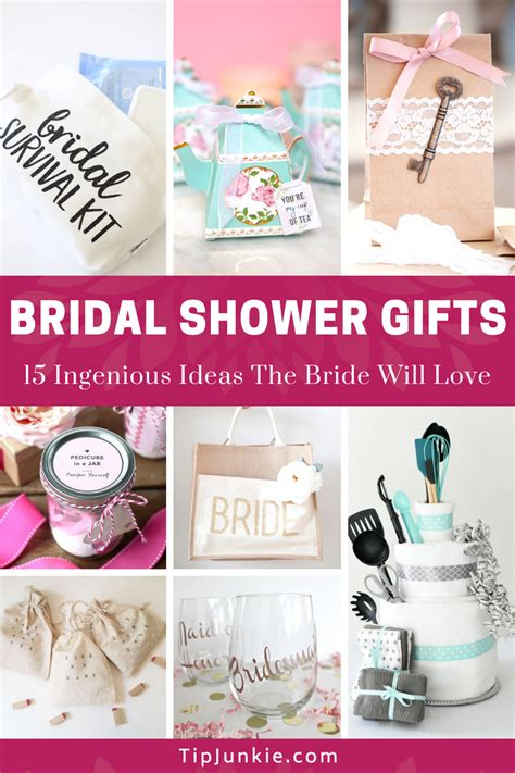 bridal shower and wedding gift both 18 ingenious bridal shower gifts the will tip