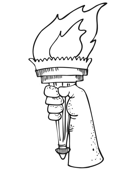 statue  liberty coloring pages getcoloringpagescom
