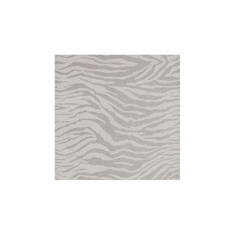 Silver Animal Print Wallpaper - graham and brown superfresco zebra silver glitter animal