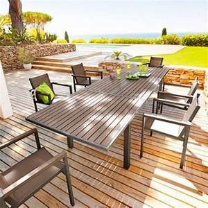 Table Jardin Composite : petite table de jardin mr bricolage ~ Teatrodelosmanantiales.com Idées de Décoration