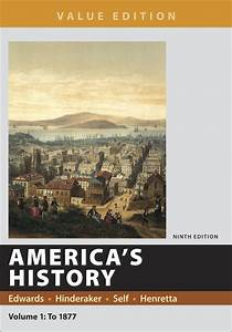 americas history value edition volume 1 9781319060565 With documents for america s history volume 1