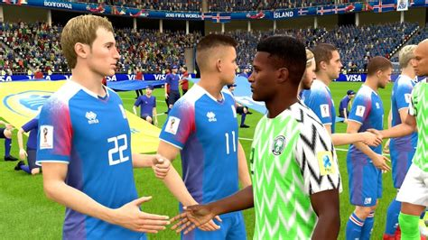 Nigeria Iceland Group Fifa World Cup Russia