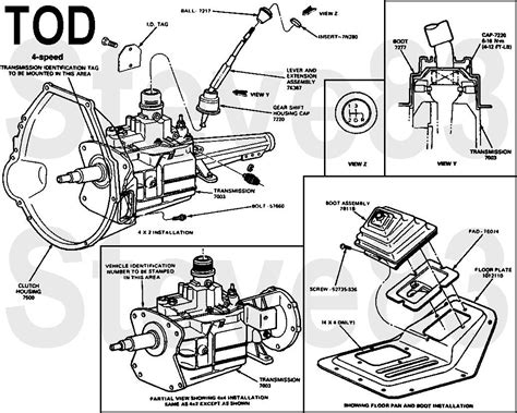 Manual Transmission Identification Ford Bronco
