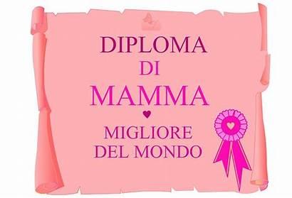 Mamma Festa Della Diploma Stampare Attestato Immagini