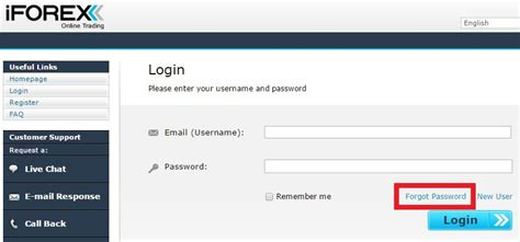 iforex login how to change personal information password etc of
