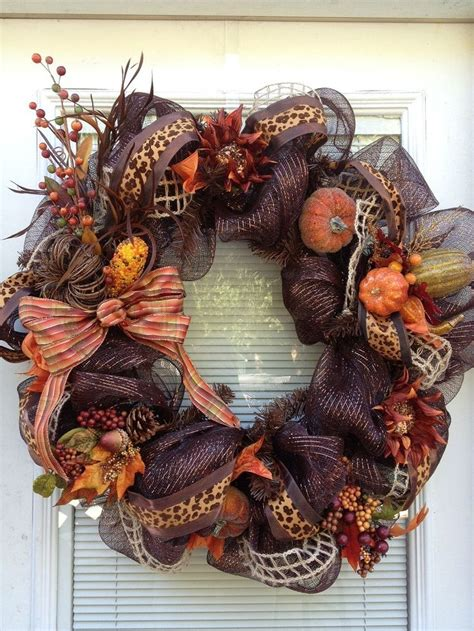 thanksgiving wreaths ideas 1000 ideas about thanksgiving mesh wreath on pinterest mesh wreaths turkey wreath and deco mesh