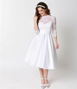 top 10 1950s vintage inspired wedding dresses under 1000 With swing wedding dress
