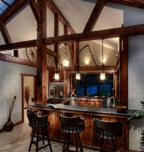 What Is A Bar In A House by Custom Pool House Bar Kitchen By Cabinetmaker Birdie