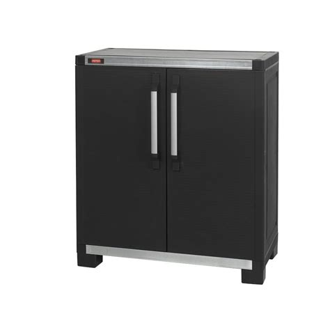 free standing kitchen cabinets home depot keter wide xl 35 in x 39 in freestanding plastic utility