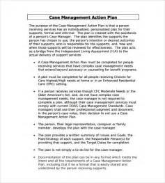 Case Management Action Plan Template