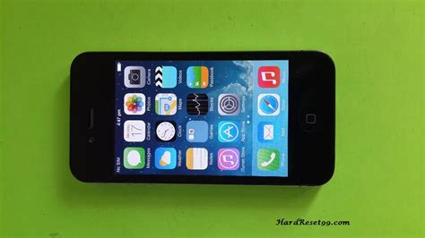 iphone 4 reset apple iphone 4 16gb reset factory reset password