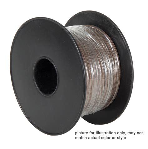clear silver l cord clear pvc 3 wire medium duty spooled l cord 46618 b p