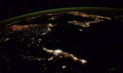 goodnight earth incredible image posted  astronauts