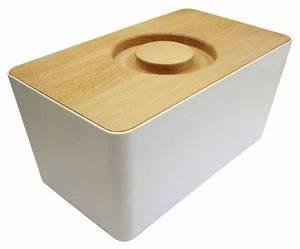 Planche Mélaminé Blanc : bo te pain m lamine couvercle planche d couper blanc ~ Dode.kayakingforconservation.com Idées de Décoration