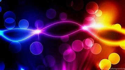 Neon Abstract Backgrounds Colorful Glowing Colors Stars
