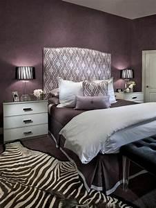 revgercom chambre couleur prune et gris idee With nuancier couleur peinture murale 17 80 idees dinterieur pour associer la couleur prune