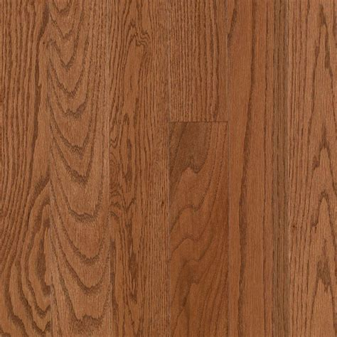 3 4 hardwood flooring mohawk raymore oak gunstock 3 4 in thick x 3 1 4 in wide x random length solid hardwood