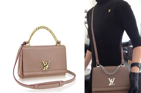 louis vuitton lockme ii bb bag reference guide spotted